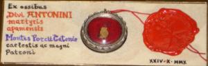 Reliquia di Sant'Antonino