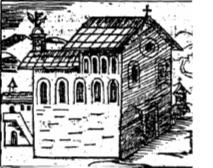 Disegno del primo edificio